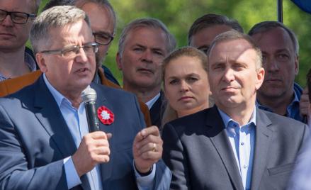 Wśród autorów listu są m.in. Bronisław Komorowski i Grzegorz Schetyna.