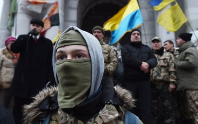 Ukraina walczy z fałszywymi uciekinierami