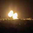 Eksplozje w rejonie miasta Rafah po izraelskim ataku