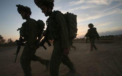 Żołnierze armii izraelskiej