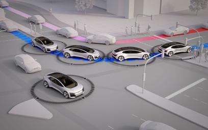 Czy w autonomicznych autach będziemy mniej stali w korkach?