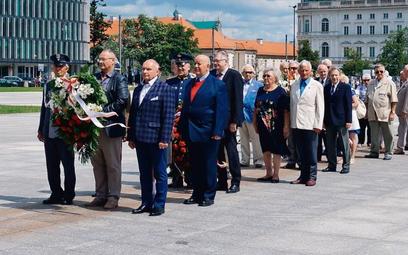 Członkowie organizacji pojawili się na prorosyjskiej imprezie przy Grobie Nieznanego Żołnierza