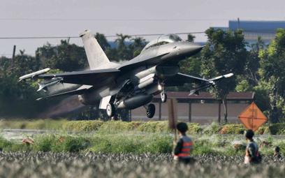 Tajwański myśliwiec F-16