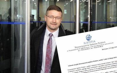 Iustitia: Juszczyszyn powinien orzekać