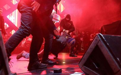 Do ataku na prezydenta Gdańska doszło na scenie w czasie finału WOŚP