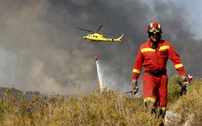Hiszpania: Płoną lasy pod Alicante