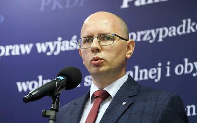 Przewodniczący Państwowej Komisji ds. Pedofilii Błażej Kmieciak