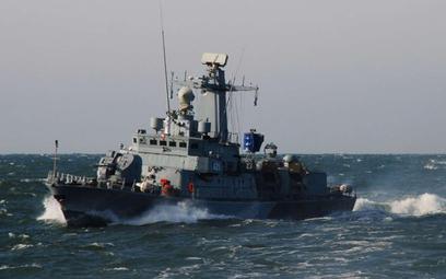 Okręt rakietowy ORP Orkan, jedna z trzech jednostek polskiej floty wyposażonych w system rozpoznania
