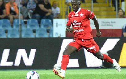 Yaw Yeboah, piłkarz Wisły Kraków