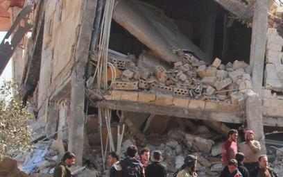 Zniszczenie szpitalu w Maarrat an-Numan oznacza, że 40 tys. Syryjczyków jest pozbawionych wszelkiej