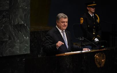 Poroszenko: Ukraina nie będzie siłą odzyskiwać Donbasu
