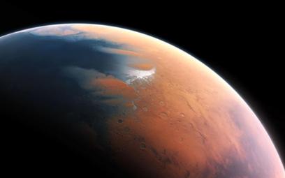 Mars przed milionami lat. Wizja artystyczna