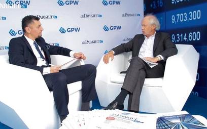Gościem Andrzeja Steca był Jacek Socha, partner w PwC.