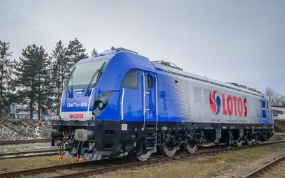 Nowe lokomotywy Lotosu