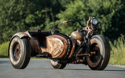 Motocykl z Polski za równy milion dolarów