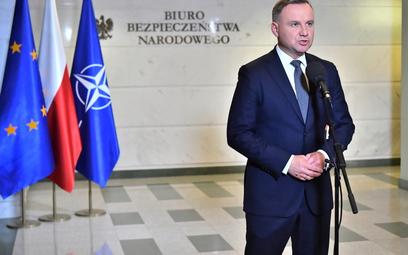Przedłużenie stanu wyjątkowego. Prezydent Andrzej Duda podjął decyzję