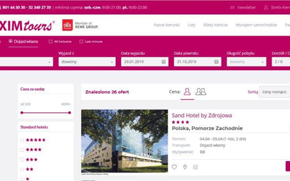 Exim Tours: Mamy polskie hotele