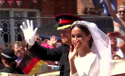 Ślub Meghan i Harry'ego w 2018 roku śledziły miliony widzów na całym świecie.