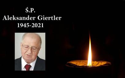 Zmarł Aleksander Giertler, założyciel i pierwszy prezes Izby Turystyki RP