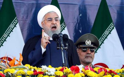 Prezydent Iranu: USA prowokują swoje marionetki w regionie