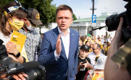 Autor jest liderem ruchu społeczno-politycznego Polska 2050. W 2020 r. kandydował na urząd prezydent