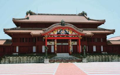Zamek w Shuri na Okinawie