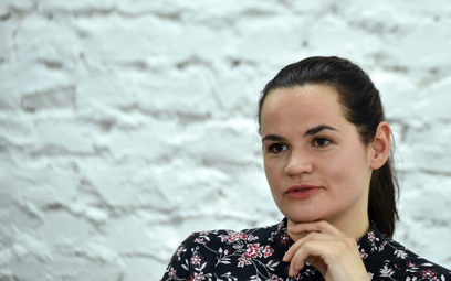 Kandydatka na prezydenta Białorusi boi się o dzieci. Wysłała je za granicę