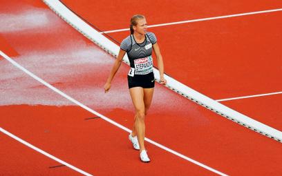 Julia Stiepanowa jako jedyna Rosjanka wystartowała pod neutralną flagą w mistrzostwach Europy w Amst