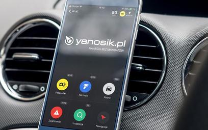 Android Auto otrzymał Yanosika