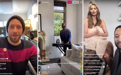 Chris Martin/Common/John Legend (Instagram)