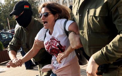 """Marsz kobiet w Mińsku. """"Święta na końcu tunelu"""""""