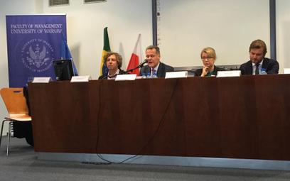 Podpis pod zdjęcie: Grzegorz Hajdarowicz - prezes Grupy Gremi i ambasador honorowy Brazylii, Alfredo