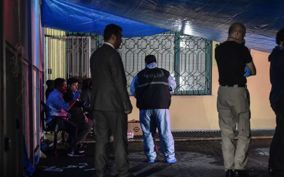 Zaginięcie Khashoggiego: Znów przeszukano konsulat