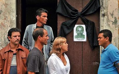 W domu hawańskiej opozycjonistki wyłożono księgę, do której Kubańczycy mogą wpisywać kondolencje po