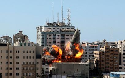 Izrael zbombardował siedzibę AP i innych mediów w Gazie