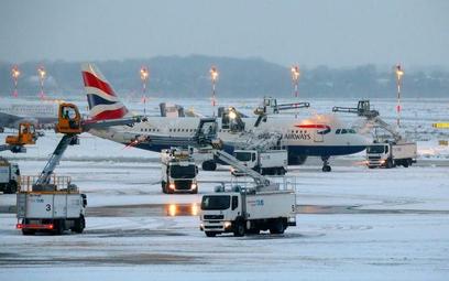 Zima zaskoczyła europejskich lotników