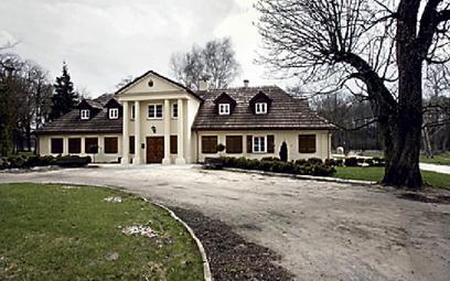 XIX-wieczny dwór Anny Branickiej- -Wolskiej w Dankowie