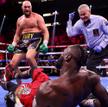 Tyson Fury posłał Deontaya Wildera na deski trzykrotnie