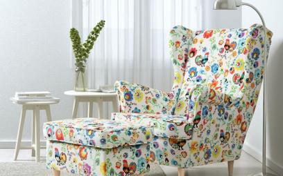 Kultowy fotel Ikei w polskiej odsłonie