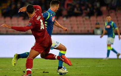 LM: Milik bez gola, ale Napoli wygrywa