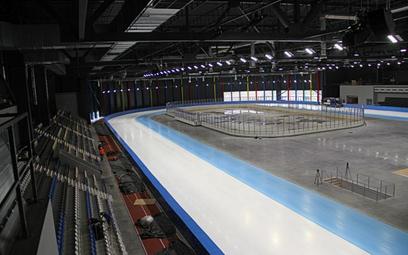 Pierwszy kryty tor do jazdy szybkiej na lodzie w Tomaszowie Mazowieckim