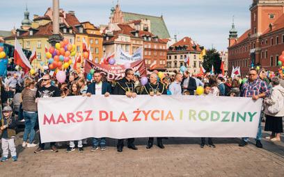 Duda i Bosak na Marszu dla Życia i Rodziny w Warszawie