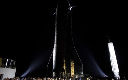 Prototyp statku kosmicznego SpaceX, który może ruszyć w kierunku Marsa