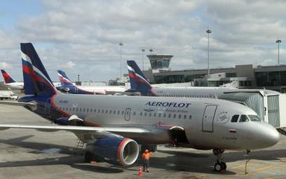 Aerofłot ma już na czarnej liście 3,5 tysiąca pasażerów