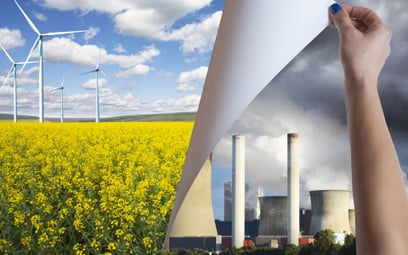EBC: zielona transformacja bardziej opłacalna niż koszty zmian klimatu