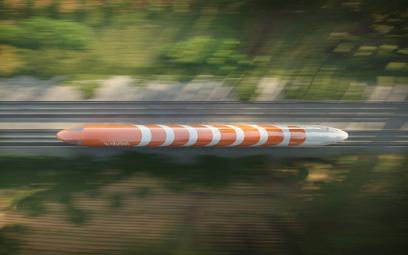 Polski lewitujący pociąg wjedzie na włoskie tory