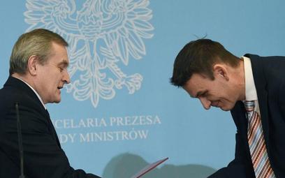 Wojciech Kaczmarczyk (z prawej) to współautor programu PiS rozwoju społeczeństwa obywatelskiego. Jes