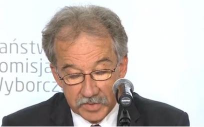 Przewodniczący PKW sędzia Wojciech Hermeliński