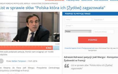 """""""Polacy zagazowali Żydów"""" we francuskiej TV"""