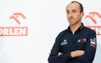 Orlen sponsorem tytularnym w F1, a Kubica kierowcą testowym
